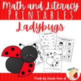 Ladybug Math Printables