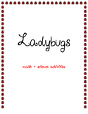 Ladybug Math & Science Activities Freebie