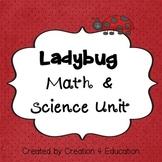 Ladybug Math & Science Unit English & Spanish