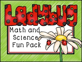 Ladybug Math and Science Fun Pack