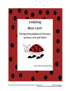 Ladybug Mini-Unit: Integrating balanced literacy, math, science & art