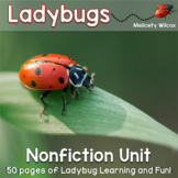 Ladybug Life Cycle and Nonfiction Unit
