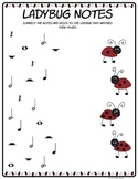 Ladybug Note Values