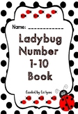 Ladybug Number 1 - 10 Book
