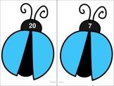 Ladybug Number Cards 1-30