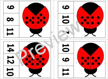 Ladybug Number Games and Activities