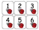 Ladybug Number Line cards 1-120