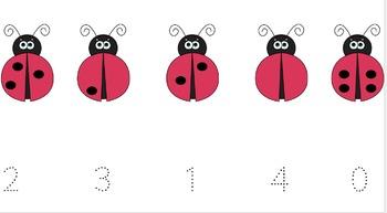 Ladybug Number Match&Trace