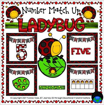 Ladybug Number Match Up