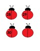 Ladybug Number 0-30 Matching & Counting Activity for Preschool