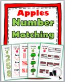 Apple Math Number Matching – Ten Frame, Tally Mark, Etc