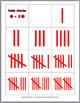 Ladybug Math Number Matching - Ten Frame, Tally Marks, Number Word, Etc