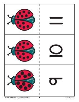 Ladybug Number Matchup
