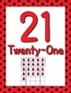 Ladybug Number Posters 21-30