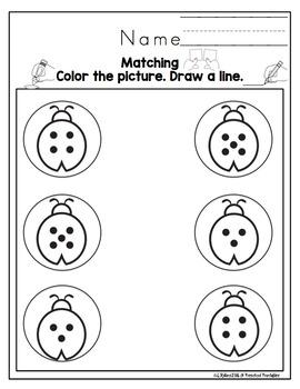 Ladybug Number Practice
