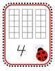 Ladybug Numbers 1-30 Center
