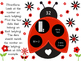 Ladybug Numbers - Expanded Form, Word Form, and Standard Form