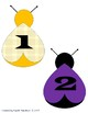 Back to School Ladybug Numbers- FREEBIE*