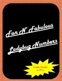 Back to School Ladybug Numbers- FREEBIE*