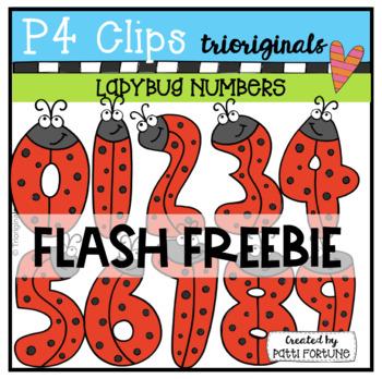 Ladybug Numbers (P4 Clips Trioriginals)