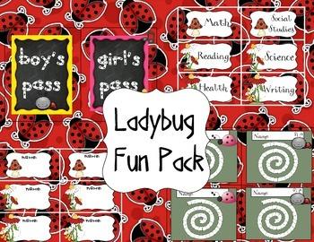 Ladybug Pack