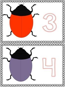 Ladybug Play Dough Math
