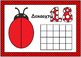 Ladybug Playdough Mat- Numbers (0-20) with Ten Frames (in greek)