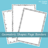 Geometric Shape Page Borders for TPT Sellers