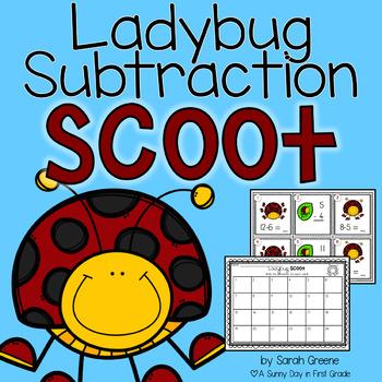 Ladybug Scoot {subtraction to 12}