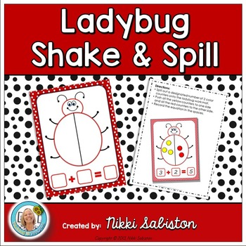 Ladybug Shake and Spill Math Mat