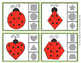Ladybug Shapes Clip Cards