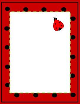 Ladybug Sheets