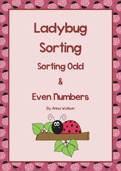 Ladybug Sorting - Odd & Even Numbers