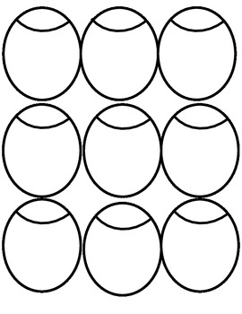 Ladybug Spatial Pattern Flashcards