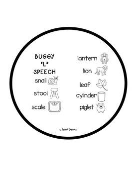 Ladybug Speech Craftivity {language & articulation craft}