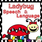 Ladybug Speech and Language Bundle