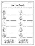 Ladybug Spots - Number Words and Addition