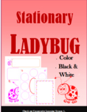 Ladybug Stationary, Graphic Organizers, Cute Pages, Paper, Valentines, Pink &Red