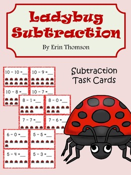 Ladybug Subtraction
