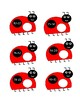 Ladybug Subtraction With and Without Regrouping File Folder Game