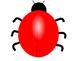 Ladybug Subtraction file folder game