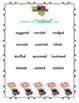 Ladybug  Synonyms Writing Posters