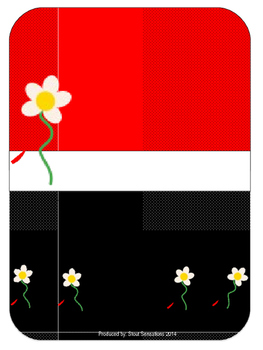 Ladybug Teacher Binder Set Editable