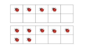 Ladybug Ten Frames