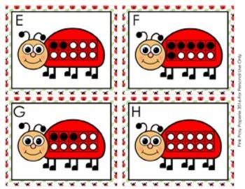 Ladybug Ten Frames Count the Room