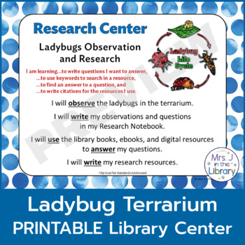 Ladybug Terrarium Observation and Research Center