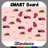 SMARTBoard Attendance Ladybugs