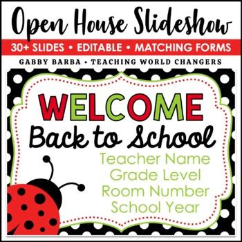 Ladybug Back to School PowerPoint