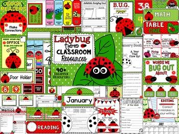 Ladybug Theme Decor Pack