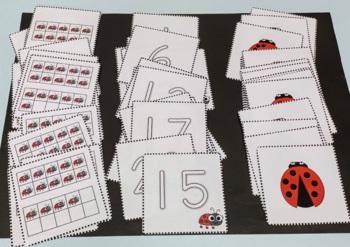Ladybug Theme Math Center